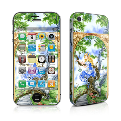 iPhone 4 Skin - Alice's Tea Time