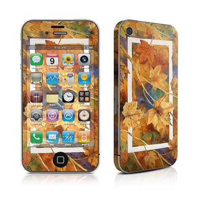 iPhone 4 Skin - Autumn Days
