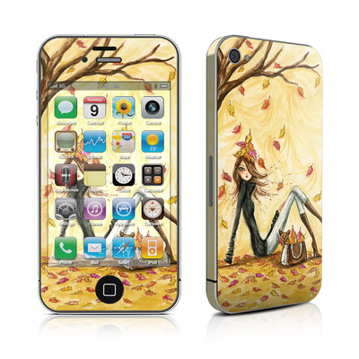 iPhone 4 Skin - Autumn Leaves