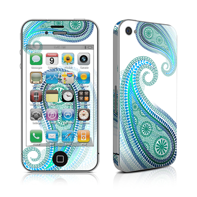 iPhone 4 Skin - Azure