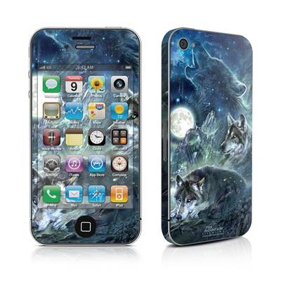iPhone 4 Skin - Bark At The Moon