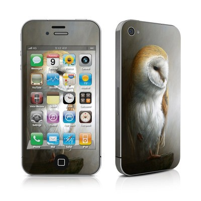 iPhone 4 Skin - Barn Owl