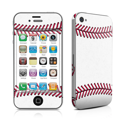 iPhone 4 Skin - Baseball