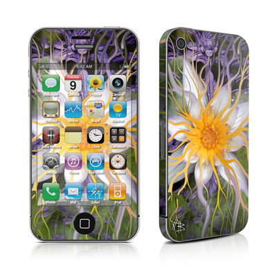 iPhone 4 Skin - Bali Dream Flower