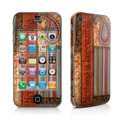 iPhone 4 Skin - Be Inspired