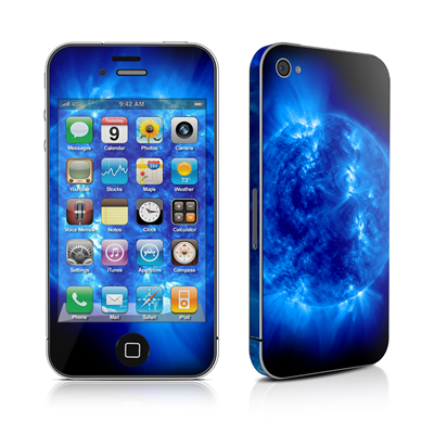 iPhone 4 Skin - Blue Giant