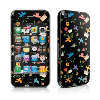 iPhone 4 Skin - Birds