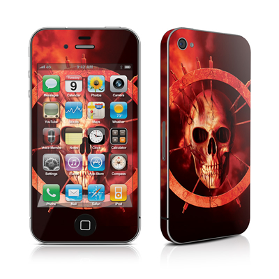 iPhone 4 Skin - Blood Ring