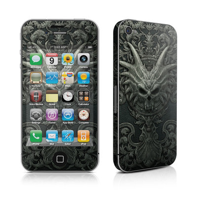 iPhone 4 Skin - Black Book