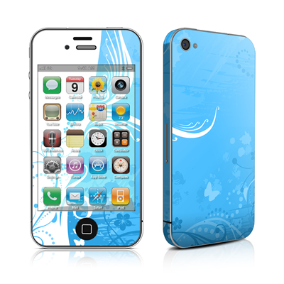 iPhone 4 Skin - Blue Crush
