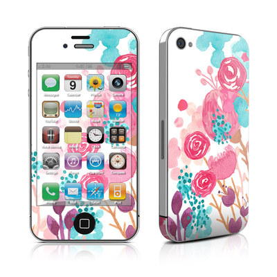 iPhone 4 Skin - Blush Blossoms