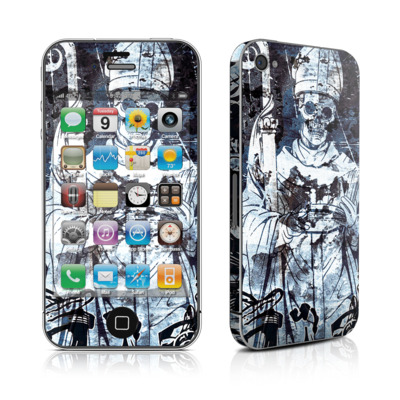 iPhone 4 Skin - Black Mass