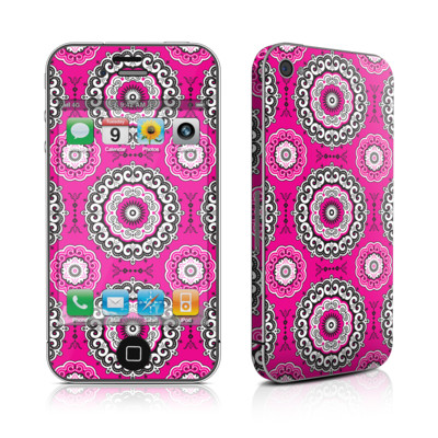 iPhone 4 Skin - Boho Girl Medallions
