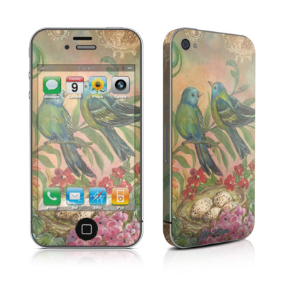 iPhone 4 Skin - Splendid Botanical