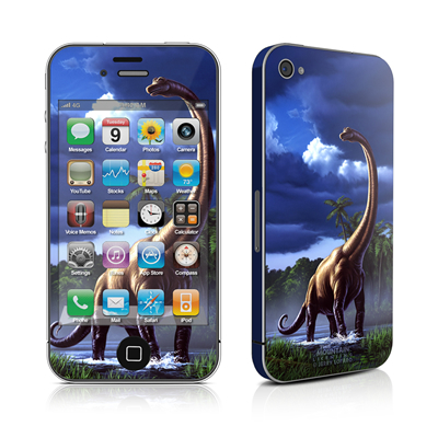 iPhone 4 Skin - Brachiosaurus