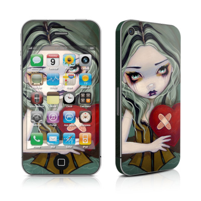 iPhone 4 Skin - Broken Heart