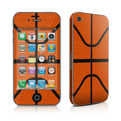 iPhone 4 Skin - Basketball
