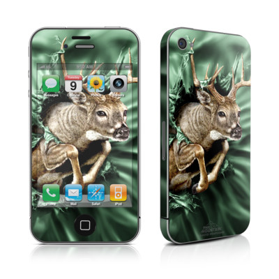 iPhone 4 Skin - Break Through Deer