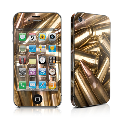 iPhone 4 Skin - Bullets