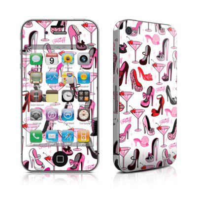 iPhone 4 Skin - Burly Q Shoes