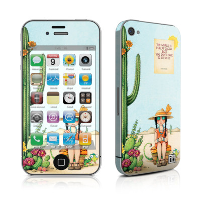 iPhone 4 Skin - Cactus