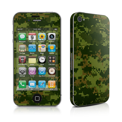 iPhone 4 Skin - CAD Camo