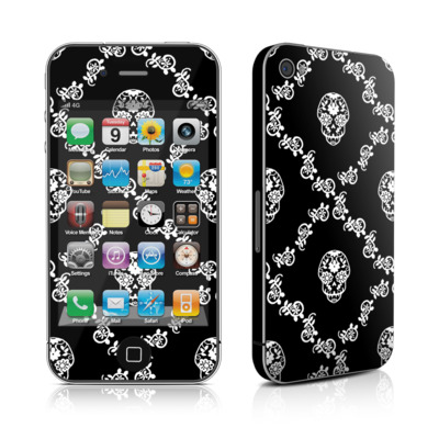 iPhone 4 Skin - Calavera Lattice