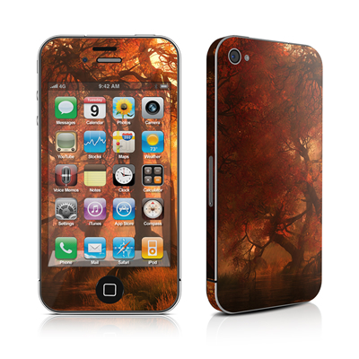 iPhone 4 Skin - Canopy Creek Autumn