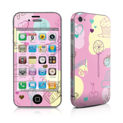 iPhone 4 Skin - Pink Candy