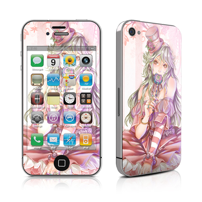 iPhone 4 Skin - Candy Girl