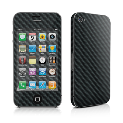 iPhone 4 Skin - Carbon