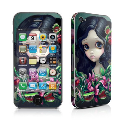 iPhone 4 Skin - Carnivorous Bouquet