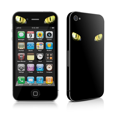 iPhone 4 Skin - Cat Eyes