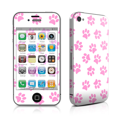 iPhone 4 Skin - Cat Paws