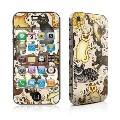 iPhone 4 Skin - Cats