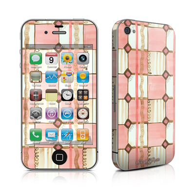 iPhone 4 Skin - Chic Check