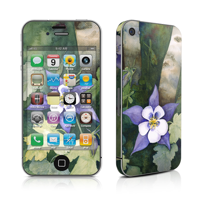iPhone 4 Skin - Colorado Columbines