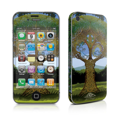 iPhone 4 Skin - Celtic Tree