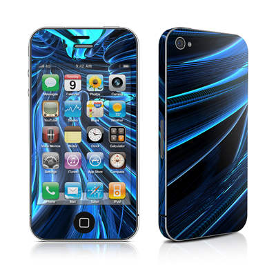 iPhone 4 Skin - Cerulean