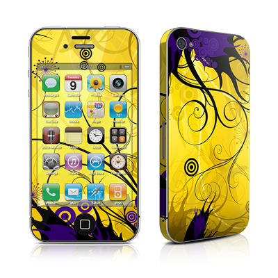 iPhone 4 Skin - Chaotic Land