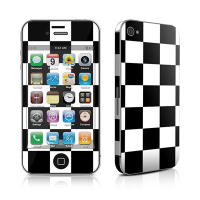 iPhone 4 Skin - Checkers