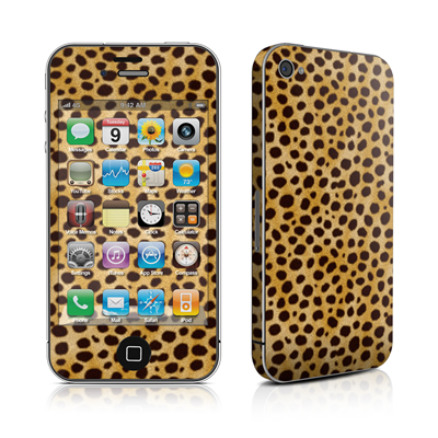 iPhone 4 Skin - Cheetah