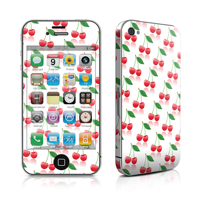 iPhone 4 Skin - Cherry
