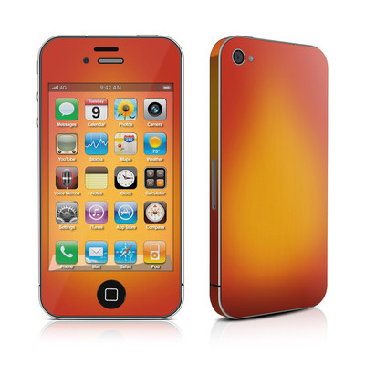 iPhone 4 Skin - Cherry Sunburst