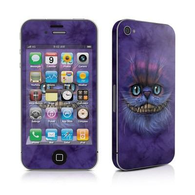 iPhone 4 Skin - Cheshire Grin