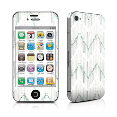 iPhone 4 Skin - Chic Chevron