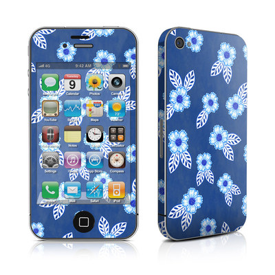 iPhone 4 Skin - China Blue