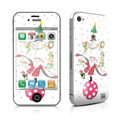 iPhone 4 Skin - Christmas Circus