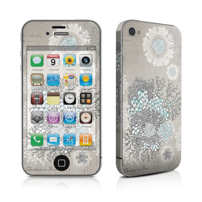 iPhone 4 Skin - Christmas In Paris