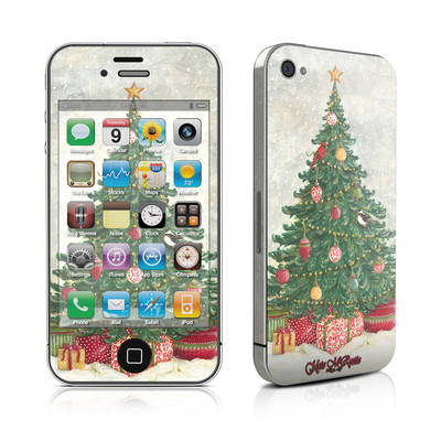 iPhone 4 Skin - Christmas Wonderland